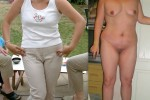 Free porn pics of dressed and undressed chubby Holly 1 of 34 pics