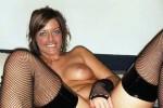 Free porn pics of Black Dildo and Stockings 1 of 9 pics