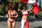 Free porn pics of Sexiest Female Fans of Copa América - Peru 1 of 11 pics