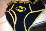 Free porn pics of Annettes batman panties found in her hamper 1 of 5 pics