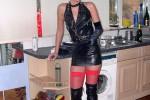 Free porn pics of latex slut 1 of 14 pics