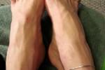 Free porn pics of Mandi - black toes and Fancy new heels! 1 of 17 pics