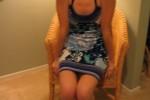 Free porn pics of Blue sundress 1 of 28 pics