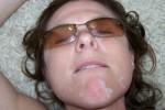 Free porn pics of Facials for sex addicted amateur wives 1 of 16 pics
