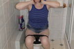 Free porn pics of On the Toilet 1 of 10 pics