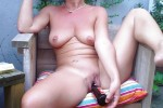 Free porn pics of Babs and her toys 1 of 12 pics