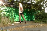 Free porn pics of mini jupe en cuir moulante et talons plateformes 1 of 9 pics