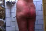 Free porn pics of Perfect plump busty milf spied on in the shower 1 of 15 pics
