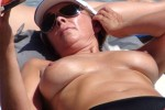 Free porn pics of Beauty mature on beach 1 of 18 pics