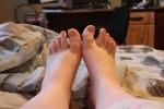 Free porn pics of my horny ex gfs feet - please tribute 1 of 9 pics
