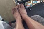Free porn pics of My feet 1 of 1 pics