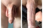 Free porn pics of My White Cock. Soft To Hard!!! 1 of 2 pics