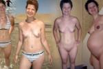 Free porn pics of my pregnant girlfriend tits belly progression 1 of 3 pics