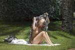 Free porn pics of Ashley Roberts Topless Sunbathing 1 of 10 pics