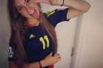 Free porn pics of Nicole Reignier - colombian hottie soccer player! (FAKE PLZ!) 1 of 105 pics