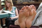 Free porn pics of Various Feet Captions (incest, stinky, sniffing, etc.) 1 of 49 pics
