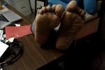 Free porn pics of Ebony Milf Wrinkled Soles.......Sabrina 1 of 143 pics