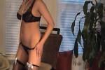 Free porn pics of Amateur Brunette Strip Tease 1 of 48 pics