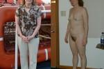 Free porn pics of Dressed Undressed Bondage Exposed Wife 1 of 68 pics