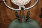 Free porn pics of red nails in green - fucking the chair 1 of 9 pics