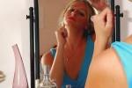 Free porn pics of Alexis 1 - Blue Dress 1 of 112 pics