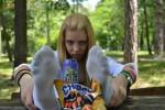 Free porn pics of Girl in socks 1 of 3 pics