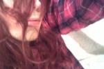 Free porn pics of Ditzy Vulgar- Redhead pink dress shirt 1 of 17 pics