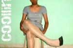 Free porn pics of Grey Midi Dress With Heels 1 of 18 pics
