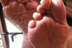 Free porn pics of like my wifes wrinkled soles? let me know 1 of 7 pics