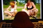 Free porn pics of On line 1 of 3 pics