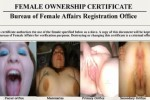 Free porn pics of Teen BBW Slut Certificate For REPOST! 1 of 1 pics
