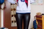 Free porn pics of Wetlook leggings perfection 1 of 1 pics