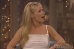 Free porn pics of Blonde Pornstarlet on TV 1 of 15 pics