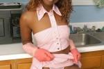 Free porn pics of Ebony - Kitchen Help 1 of 15 pics