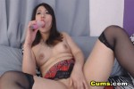Free porn pics of Curvy Asian Babe Rubs Pussy and Fucks Ass with Dildo 1 of 1 pics
