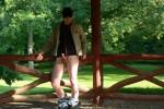Free porn pics of BadBlackBoys_Exhib V Outdoor Hardon 1 of 24 pics