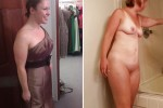 Free porn pics of Hot Milf Candid Dressed Undressed 1 of 15 pics