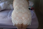 Free porn pics of My wife in White and black lace 1 of 39 pics