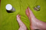 Free porn pics of My Feet With Baby Oil 1 of 5 pics