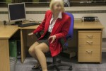 Free porn pics of Teasing the boss in the office for a rise 1 of 44 pics