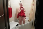 Free porn pics of BBW wife drying up after the bath 1 of 10 pics